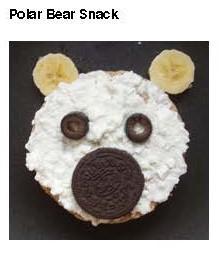 polar bear snack